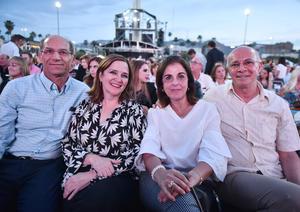 Memo, Cecy, Rocio y Beto Murra