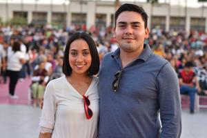 Mireya y Sebastian