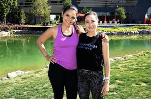 Erika Salgado y Sandra Garza