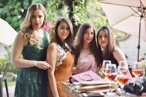 Mariana, Andrea, Maritere y Brenda