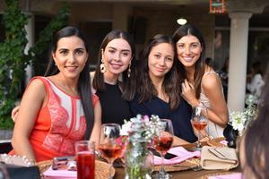 Natalia, Andrea, Yasmin y Brenda
