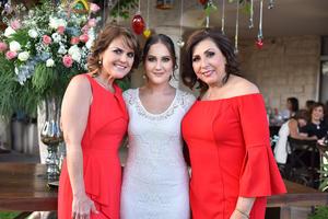 Rocío, Karla y Camis