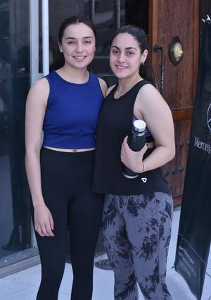 Monica y Vivian