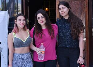 Raissa, Mariana e Itzel