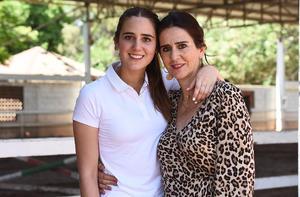 Natalia Lugo y Leonor de Lugo