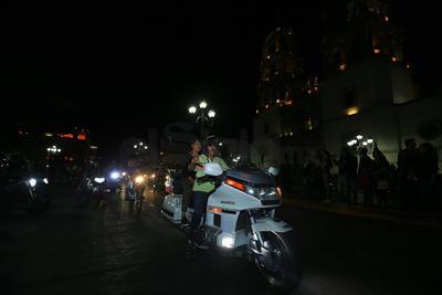 Aproximadamente 500 motociclistas de Durango se dieron cita a la bendición.
