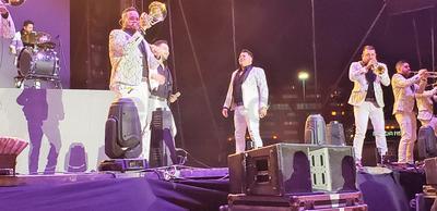 El concierto tuvo lugar en las instalaciones de la Feria de Torreón.