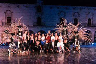 Más de 20 artistas forman parte de la compañía tapatía 'Crisol Dance'.