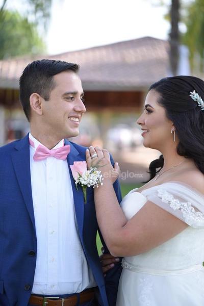 José Antonio Martínez Villalba y Mariana Jiménez Valdez contrajeron matrimonio el 2 de marzo.