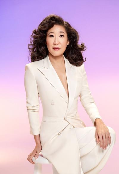La actriz estadounidense de Grey´s Anatomy, Sandra Oh.