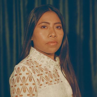 La actriz de Roma, nominada al Oscar, Yalitza Aparicio.