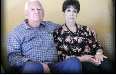 Caro y Clemente García Zugastí en su 53 aniversario.