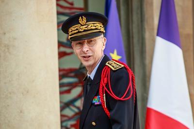 El prefecto de la policía de París, Didier Lallement.