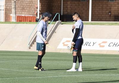 Almada dirige nueva práctica con Santos Laguna para su próximo duelo