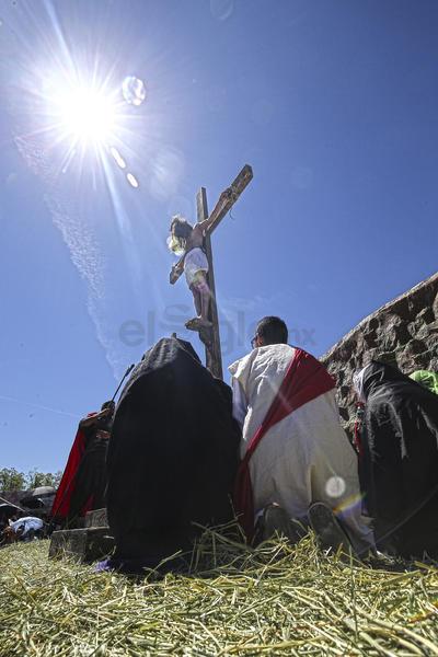 Sufrió las consecuencias de su estilo de vida conduciéndolo a la muerte en cruz.