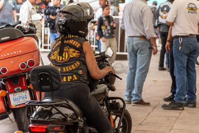 Diferentes motoclubs del país estuvieron presentes.