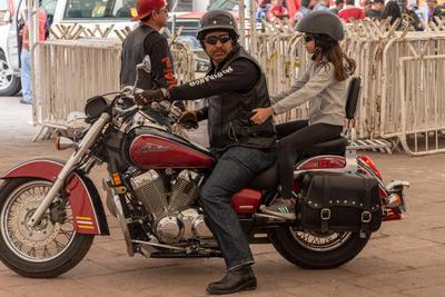 El comité organizador calculó que se recibieron aproximadamente dos mil 500 biker, quienes vivieron un gran día.