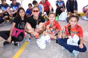 Violeta, Aracely, Andrea e Isabel