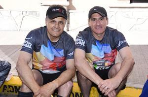 Óscar Ebrard y Carlos Ezquerra