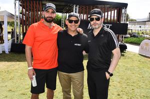 Mauricio, Edgar y Rod
