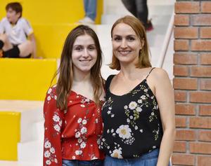 Consuelo Gilio y Marcela Alatorre
