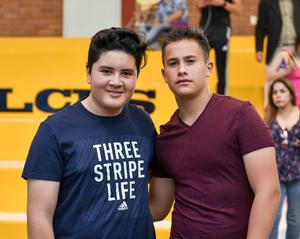 Ismael y Francisco