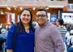 Perla Muñoz Payán y Gustavo Álvarez Mendoza