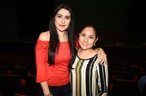 Liliana Félix y Angie Delgado