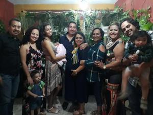 28042019 FIESTA DE CANASTILLA.  Acompañan a Martha y Omar en su baby shower.