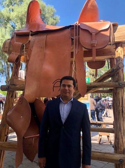 Entre los asistentes al evento no pudo faltar el delegado del Gobierno Federal en Coahuila, Reyes Flores Hurtado.