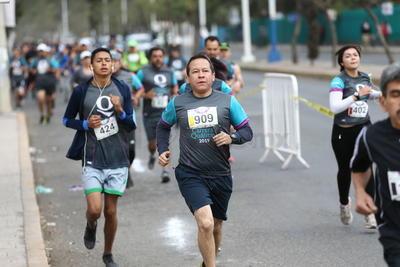 La carrera se vivió la mañana del domingo.