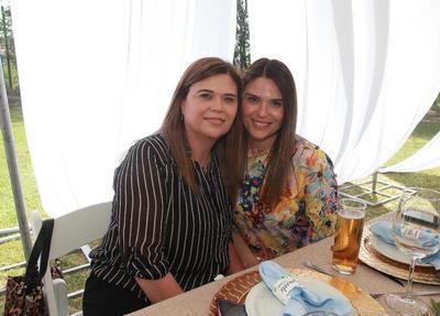 Cristina Puente y Cristina Vázquez.