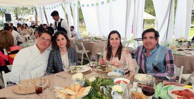 Sandra de la Parra, Miguel de la Parra, Laura de Elizondo y Javier Elizondo.