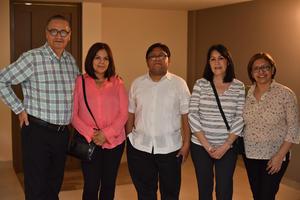 03042019 Eduardo, Cristina, Padre José Luis, Silvia y Lupita.