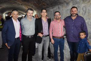 04042019 René, Alejandro, Alan, Mario y Mario.