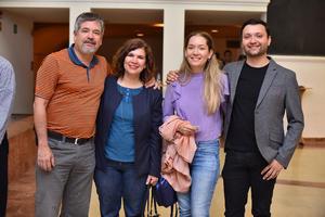 04042019 Miguel, Claudia, Paulina y Ernesto.