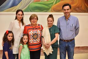 04042019 Itziar, Sofía, Luisa, Avelina, Milagros y José Miguel.