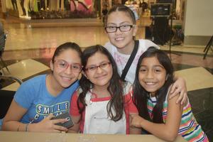 04042019 Andrea, Gisele, Renata y Paloma.