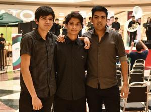 05042019 AMIGOS.  Daniel, Ceric y Armando.