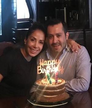 09042019 DOBLE FESTEJO.  Los hermanos Alejandra Castañeda de Albeniz y Eduardo Castañeda Gamboa celebraron sus cumpleaños con una cena familiar.
