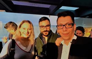 10042019 TENDENCIAS SWAROVSKI 2020.  Artistas y diseñadores, Mariana Barranco, Osiris Flores y Pineda Damián, en El poder de las emociones.