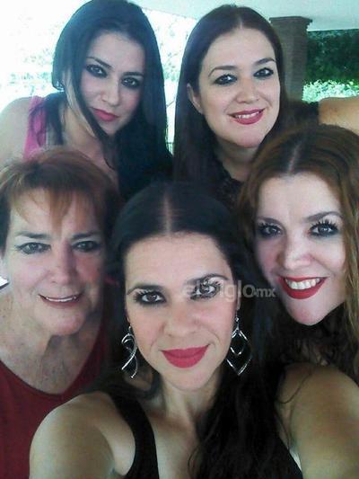 Aída, Berthaly, Bertha M., Rosy y Thelma.