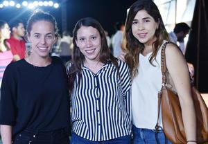 Cecy, Monica y Lupita