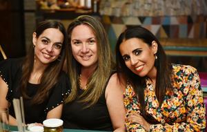Monica, Alejandra y Leslie