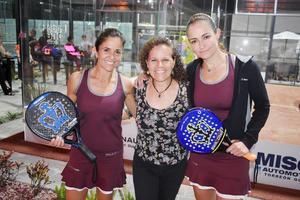 Fabiola, Monica y Arantza