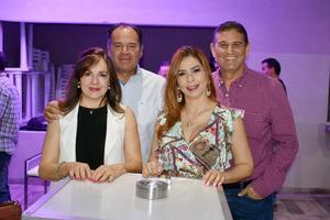 Pity, Javier, Albertine y Luis carlos