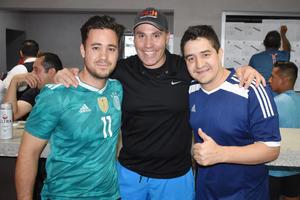 Ruben, Jorge y Luis
