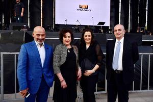 Alberto Villarreal, Emma Rita Irarragorri, Ane de Irarragorri y Alejandro Irarragorri
