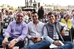 Alejandro, Paco y Marlon