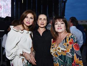 Claudia Villarreal, Esthela de Marcos y Norma Boehringer